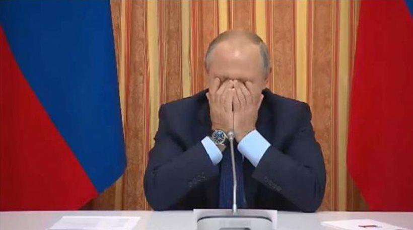 Βίντεο: Η στιγμή που ο Πούτιν σκάει στα γέλια με την απίστευτη ατάκα υπουργού του