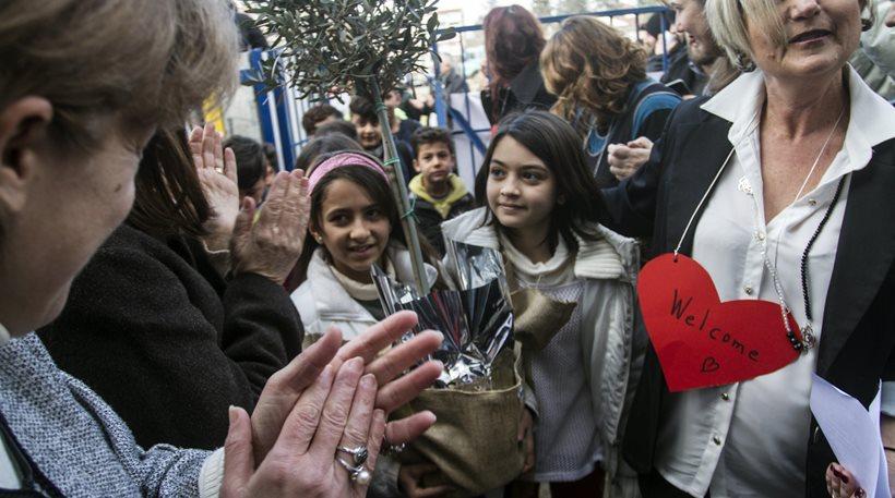 Σε 1.000 σχολεία φοιτούν προσφυγόπουλα