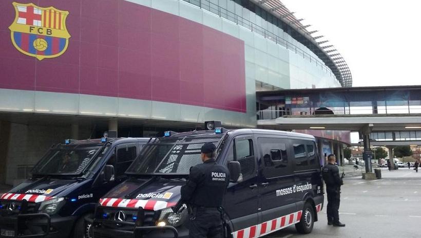 Συστάσεις της αστυνομίας εν όψει του Μπαρτσελόνα-Ολυμπιακός