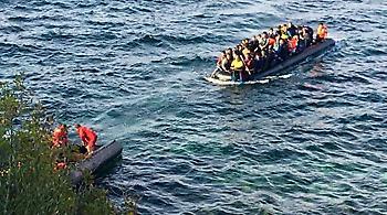 Διασώθηκαν 58 πρόσφυγες ανοιχτά του Φαρμακονησίου