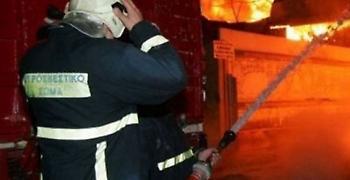 Λάρισα: Απανθρακώθηκαν 100 αμνοερίφια από φωτιά σε ποιμνιοστάσιο
