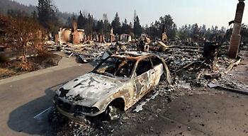 Καλιφόρνια: Αυξήθηκε ο αριθμός των νεκρών από τις φωτιές