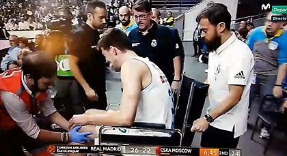 Τραυματίστηκε σοβαρά και αποχώρησε με καροτσάκι ο Κούζμιτς (video)