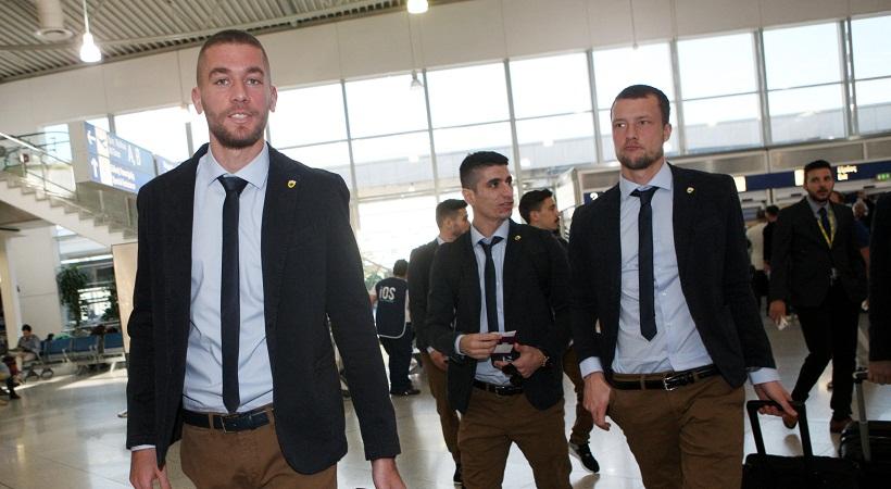 Ταλαιπωρήθηκε στην επιστροφή από Μιλάνο η ΑΕΚ
