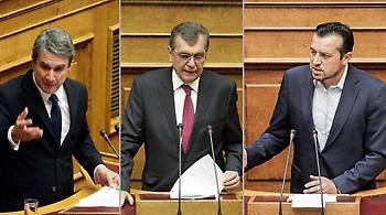 Κόντρα Λοβέρδου - Κρεμαστινού - Παππά στη Βουλή με F-16, Τραμπ και... χολέρα