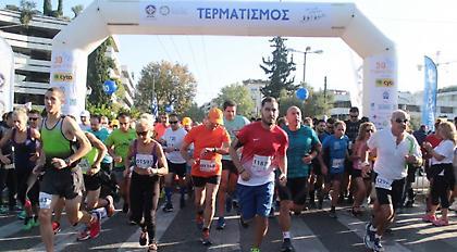 Διακοπή κυκλοφορίας την Κυριακή για τον «31ο Γύρο Αθήνας»