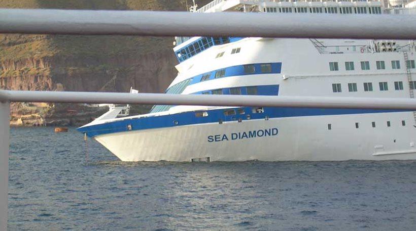 Εντολή Κουρουμπλή για ανέλκυση του κρουαζιερόπλοιου Sea Diamond