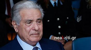 Βούρκωσε ο Γιάννης Λεμπιδάκης: Αν δεν ήταν η αστυνομία δεν θα ήμασταν εδώ (video)