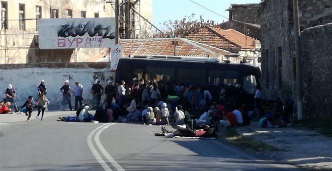 Μυτιλήνη: Νέα κινητοποίηση μεταναστών και προσφύγων στη Μόρια