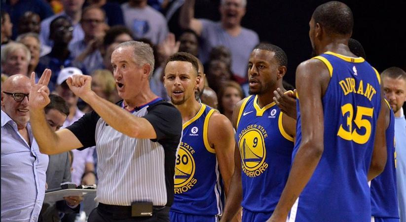 NBA: Αποβλήθηκαν οι έξαλλοι Κάρι και Ντουράντ (video)
