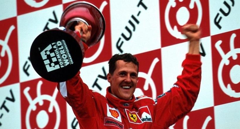 Το πρώτο πρωτάθλημα του Μίχαελ Σουμάχερ με τη Ferrari