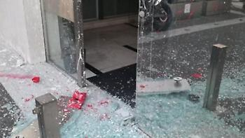 Επίθεση με πέτρες στα γραφεία του «Έθνους»