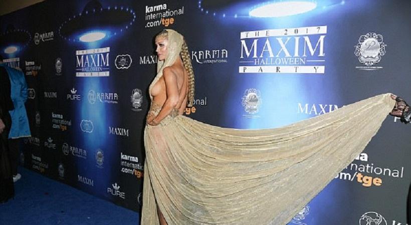 Η Τζοάνα Κρούπα έκανε σέξι το Halloween