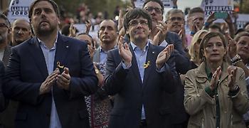 Τα επόμενα βήματά τους ετοιμάζουν οι αποσχιστές στην Καταλονία