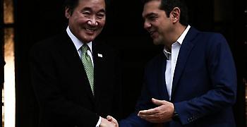 Συνεργασία στην e-διακυβέρνηση και τόνωση του εμπορίου συζήτησαν Ελλάδα και Νότια Κορέα