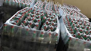 Κατέσχεσαν 700 λίτρα λαθραίων ποτών στον Προμαχώνα