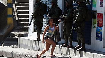 Βραζιλία: Η αστυνομία σκότωσε κατά λάθος μια Ισπανίδα τουρίστρια σε φαβέλα στο Ρίο