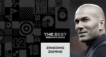 Κορυφαίος προπονητής της χρονιάς ο Ζιντάν!