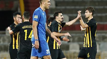 Ο ωραίος συνδυασμός και το γκολ του Χριστοδουλόπουλου για το 2-0 της ΑΕΚ (video)
