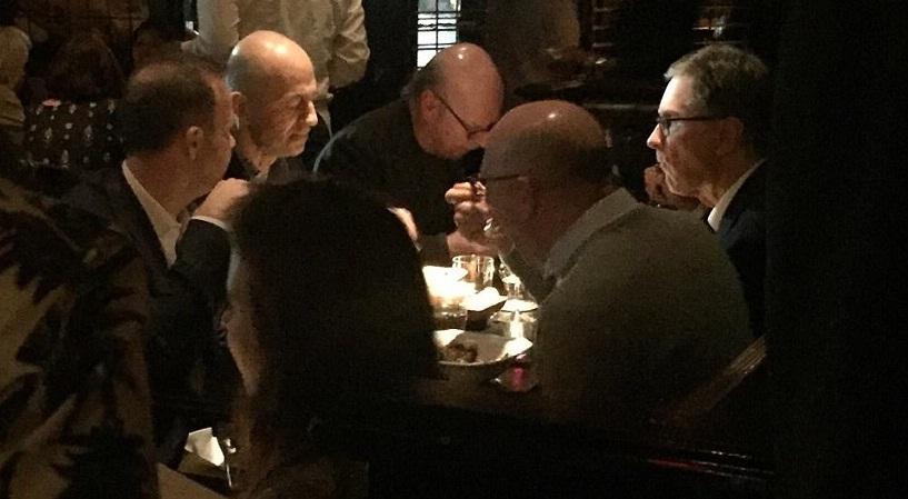 Μυστικός δείπνος: Τι έκαναν στο ίδιο τραπέζι τα αφεντικά Λίβερπουλ, Γιουνάιτεντ και Άρσεναλ