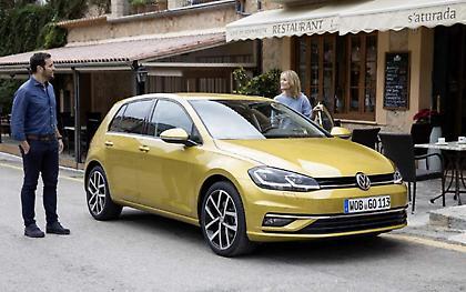 Νέο Volkswagen Golf TGI με φυσικό αέριο από 21.800 ευρώ