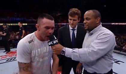Χαμός σε αγώνα του UFC στη Βραζιλία με μαχητή που τα έβαλε με τους θεατές (video)