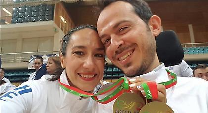 «Χάλκινος» πρωταθλητής Ευρώπης ο Πολυχρονίδης στο ατομικό BC3