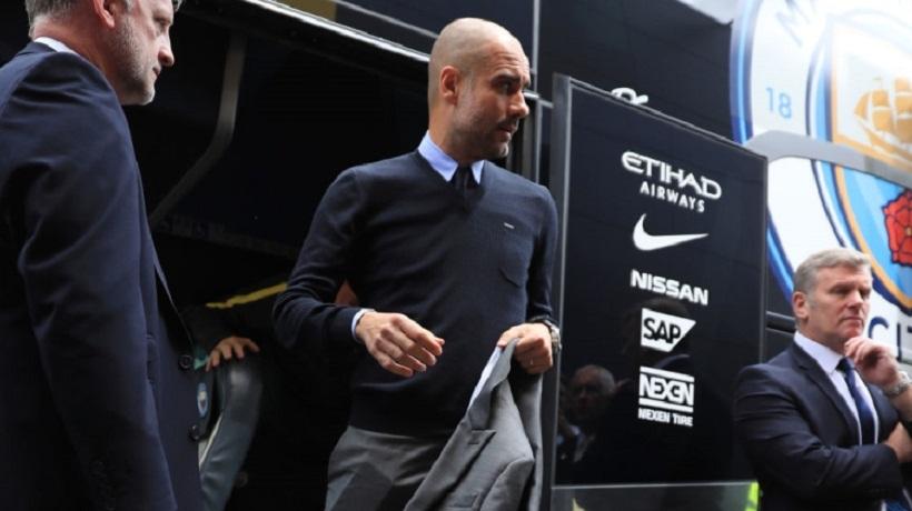 Παραλίγο να φύγει με το λεωφορείο της Νάπολι ο Γκουαρντιόλα!