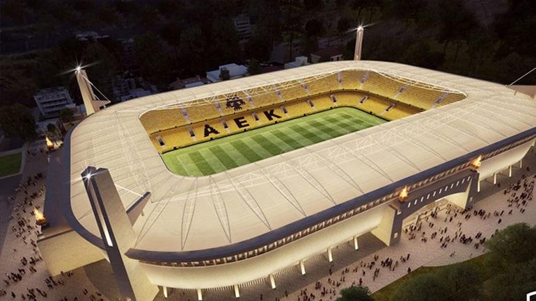 Νωρίτερα και μεγαλύτερο το νέο γήπεδο της ΑΕΚ!