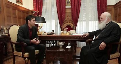 Με τον Τσιάρτα συναντήθηκε ο Αρχιεπίσκοπος – Τι ειπώθηκε για σημαία και ποδόσφαιρο