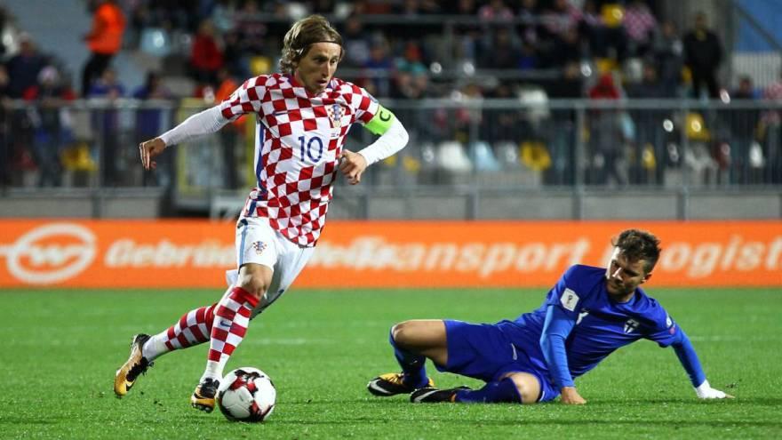Η ενδεκάδα της Κροατίας