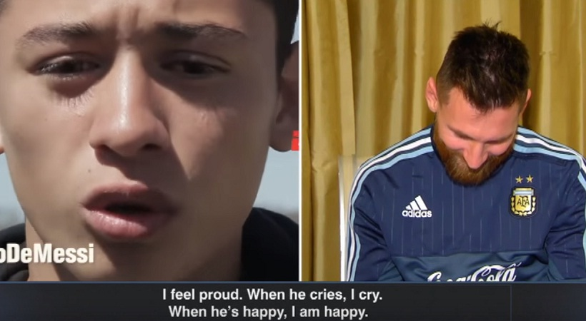 Ο Μέσι βλέπει το μέλλον της Αργεντινής να τον αποθεώνει (video)