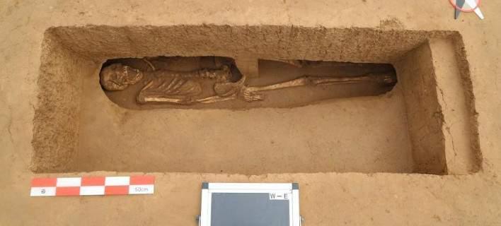 Κίνα: Ανακάλυψαν νεκροταφείο 5.500 ετών -Με γυναικεία οστά και κοσμήματα (pics)