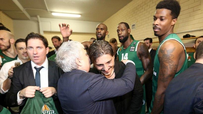 Πώρωσε τους παίκτες του Παναθηναϊκού ενόψει ΣΕΦ ο Γιαννακόπουλος