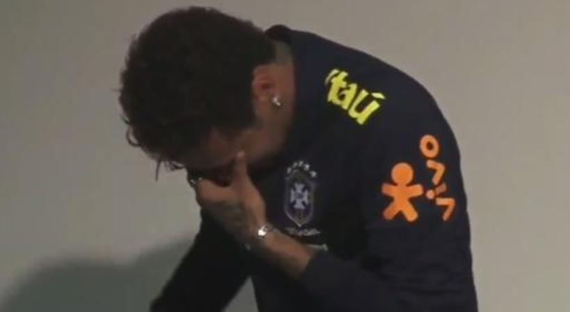 Απίστευτο ξέσπασμα Νεϊμάρ: Έβαλε τα κλάματα μπροστά στις κάμερες! (video)