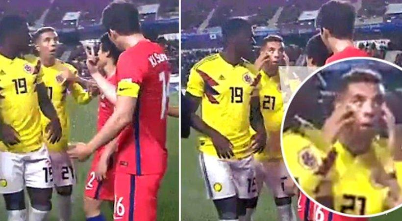 Οργή για τη ρατσιστική χειρονομία του Έντβιν Καρδόνα στους Νοτιοκορεάτες! (pics/video)