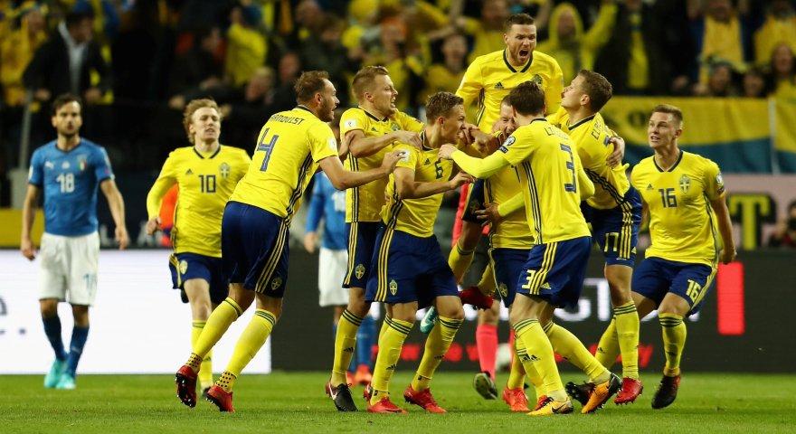 «Λύγισε» την Ιταλία και έδωσε το προβάδισμα στη Σουηδία ο Γιόχανσον