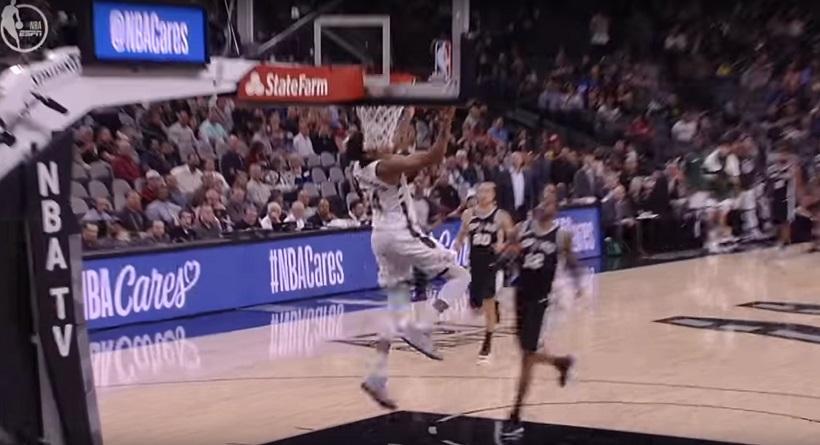 NBA: Στην κορυφή του Top 10 ο Αντετοκούνμπο (video)