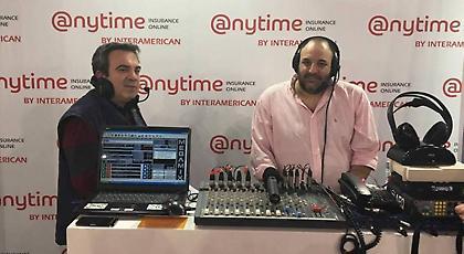 LIVE: Ο ΣΠΟΡ FM και η Anytime ζωντανά από την Αυτοκίνηση Fisikon 2017
