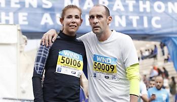 Έτρεξε στον μαραθώνιο ο Παναγιώτης Αγγελόπουλος (pic)