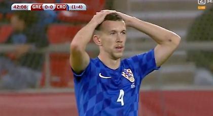Τρομερό σουτ του Πέρισιτς και δοκάρι για την Κροατία (video)