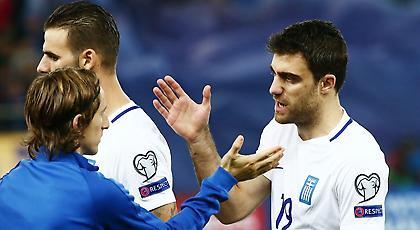 Ο προπονητής της Κροατίας ζήτησε τη φανέλα του Παπασταθόπουλου