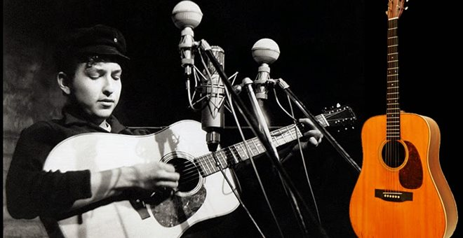 ΗΠΑ: 400.000 δολάρια για μία από τις ακουστικές κιθάρες του Μπομπ Ντίλαν