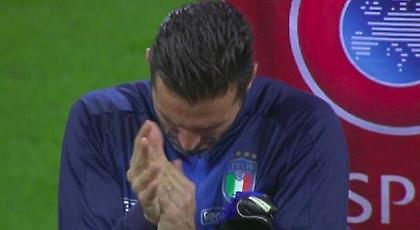 Ο Μπουφόν «διόρθωσε» το λάθος των Ιταλών οπαδών (video)