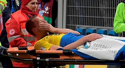 Η συγκλονιστική στιγμή του τραυματισμού του Γιόχανσον (pics/video)