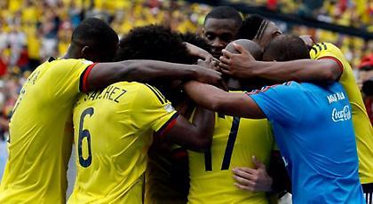 Σκόραρε με Κολομβία και τρελάθηκε ο Πάρντο (video)