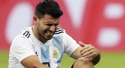 Λιποθύμησε στα αποδυτήρια της Αργεντινής ο Αγουέρο