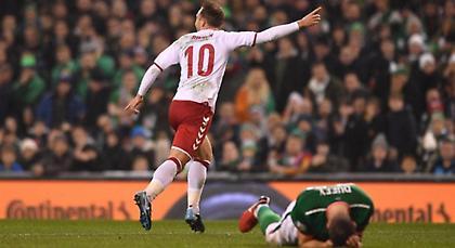 Διέλυσε την Ιρλανδία και πάει Μουντιάλ η Δανία του τρομερού Έρικσεν!