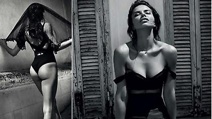 Η πανέμορφη Αντριάνα Λίμα επιλέγει τις αγαπημένες φωτογραφίες της
