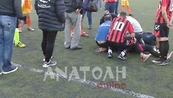 Παίκτες κατέληξαν στο νοσοκομείο μετά από ξύλο σε αγώνα στην Κρήτη